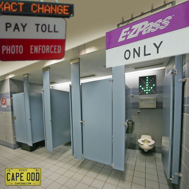 EZ Pass for toilets in public restrooms