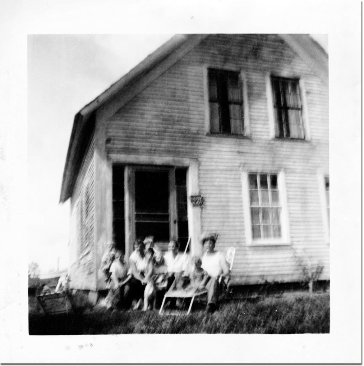 A place I've been. East Lempster NH in the early 1960s.