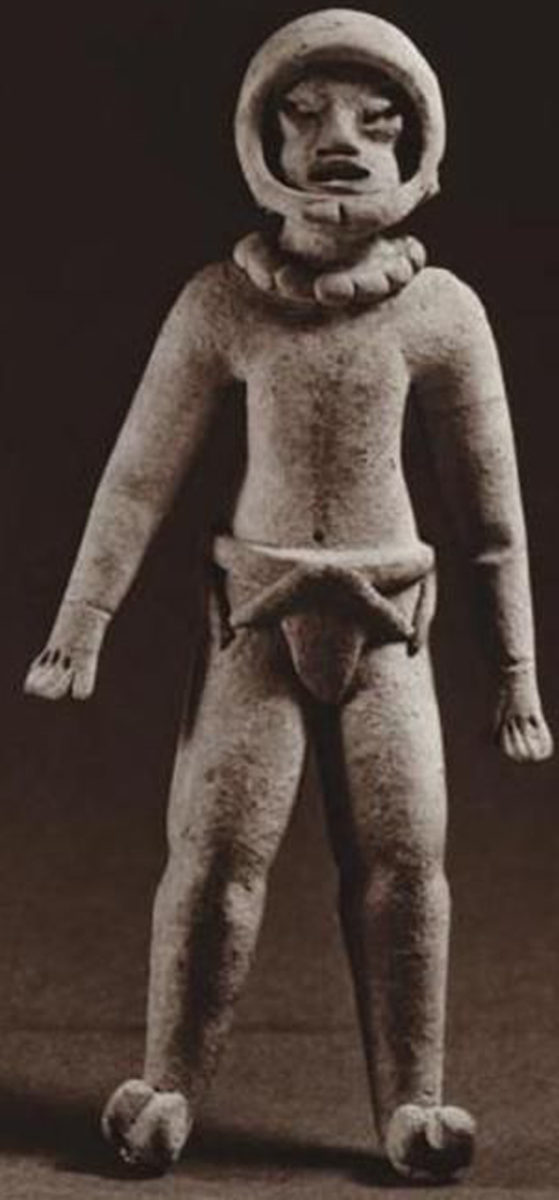 Space Monkey, Xochipala, México; 1150